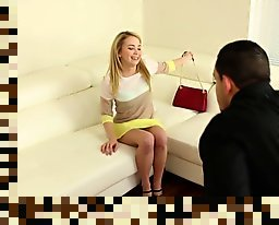 blonde teen creampie